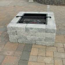 How To Build A Square Brick Fire Pit - best 25 square fire pit ideas on pinterest stone fire pits how