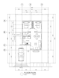 rectangular bungalow floor plans sta ignatia modern model house sta lucia homes best home