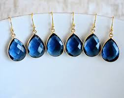 royal blue earrings royal blue earrings etsy