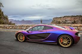 mclaren p1 wildest paint job grease n gas