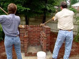 how to build a brick barbecue how tos diy