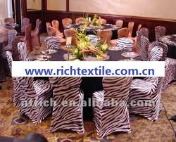 Zebra Dining Chair Covers Zebra Chair Cover Animal Print Chair Cover Cts834 Fit All Chairs