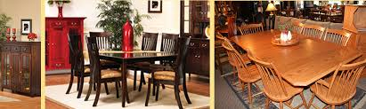 amish custom furniture and accents amish dining room furniture