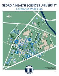 Scc Campus Map Health Sciences Campus Map By Augusta University Issuu