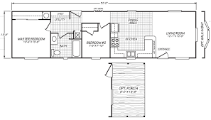 Square Floor Plans For Homes Trinidad 14 X 52 693 Sqft Mobile Home Factory Expo Home Centers