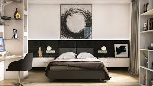 photo d une chambre idée d aménagement une chambre avec dressing et salle de bain