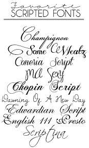 best 25 cursive fonts for tattoos ideas on pinterest polices de