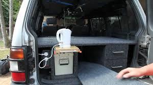 rear cargo storage unit for pajero prado part 3 youtube