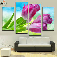 Paintings For Living Room Paintings Tulips Promotion Shop For Promotional Paintings Tulips