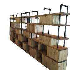 Wood Shelving Units by Wall Shelves Design Best Industrial Wall Shelving System Metro