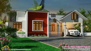 mix roof single floor house kerala home design and floor plans