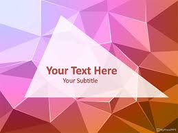 Abstract Powerpoint Background Abstract Powerpoint Template Free Powerpoint Theme