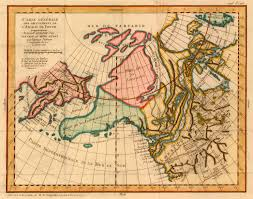 Maps Of Alaska by 18th Century French Map Has Unique Interpretation Of Alaska
