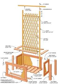 trellis planter plans diy free download free intarsia patterns