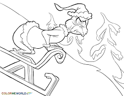 grinch coloring pages free printable grinch pdf coloring