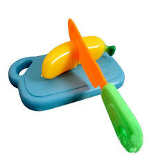 buy kitchen food play toy cutting fruit vegetable knife for