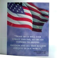 9 11 Remembrance Flag Khalid M Shahid Living Memorial