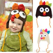 2018 baby crochet hadmade top hat baby thanksgiving day gift