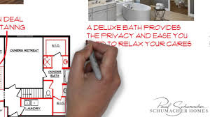 Customized Floor Plans by Schumacher Homes Customizing Floor Plans For Your Lifestyle Youtube