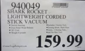 shark rocket ultra light upright stick vacuum costco sale shark rocket ultra light upright corded vacuum 129 99