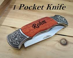 Personalized Groomsmen Knives Personalized Knife Etsy