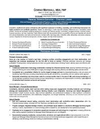 Sample Finance Manager Resume by 28 Sample Resume For Finance Executive Example Financial