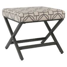 small upholstered bench target