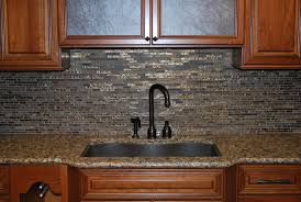 Black Glass Backsplash Kitchen Kitchen Interesting Kitchen Decorating Design Ideas Using White