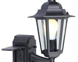 lighting light fixture outdoor with outlet home lighting