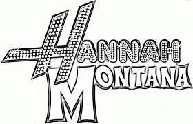coloriage hannah montana sur coloriage à imprimer du net