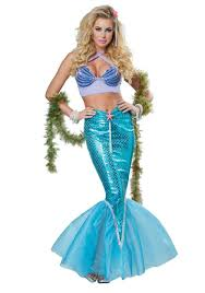 mermaid costume women s deluxe mermaid costume