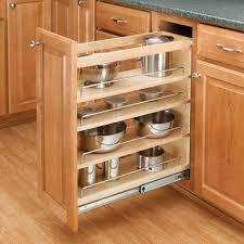 3 tier kitchen cabinet organizer rev a shelf 3 tier pull out base organizer 5 wood 448 bc 5c