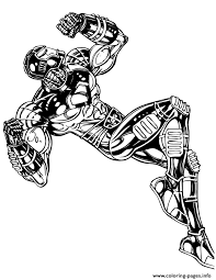 awesome iron man comic coloring pages printable