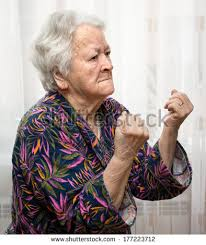 Grumpy Old Lady Meme - angry old woman stock images royalty free images vectors
