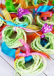 crochet decorated tree tree challenge