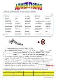 Coordinating And Subordinating Conjunctions Worksheets 55 Free Esl Advertising Marketing Worksheets