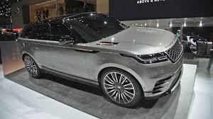 2018 range rover velar first look 2017 geneva motor show youtube