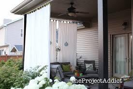 Canada Home Decor Outdoor Patio Curtains Canada Ecormin Com