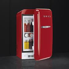 buy smeg fab5rrd new 50 u0027s retro style aesthetic minibar cooler in