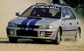 bugeye subaru stock 1994 subaru impreza wrx archived instrumented test reviews