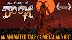 the planet of doom an animated tale of metal and art by riff