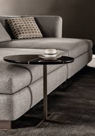 oval marble side table joy u201cjut out u201d by minotti design rodolfo