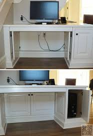 Sauder Harbor View Computer Desk With Hutch Salt Oak by 25 Best Wall Unit Entertainment Center Ideas Images On Pinterest