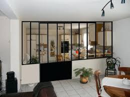 separation de cuisine en verre separation en verre cuisine salon great separation en verre