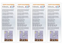 Skeleton Bones For Halloween by Conversational Calaveras 5 Dem Bones Dance U0026 Artivities Daily