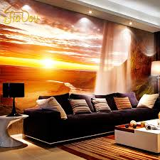 Wall Murals Bedroom by Online Get Cheap Nature Scenery Wall Murals Aliexpress Com