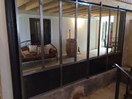 porte style atelier d artiste fabrication portillon et porte en fer forgé sur hyères la