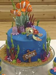 Cake Decorating Supplies Ontario Piękne Torty Finding Nemo Cake Cake And Finding Nemo