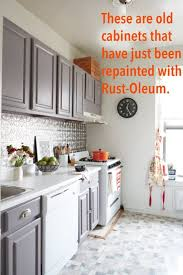 Rustoleum For Kitchen Cabinets by Rust Oleum Cabinet Refinishing Kit Apartment Therapy