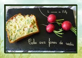 cuisiner feuilles de radis cake aux fanes de radis la cuisine de lilly